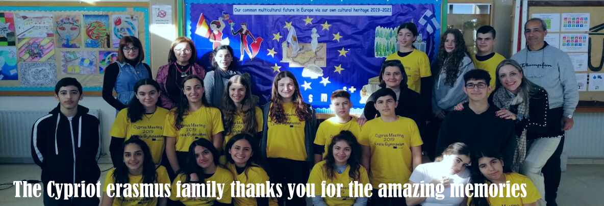 The Cypriot erasmus family thanks you for the amazing memories